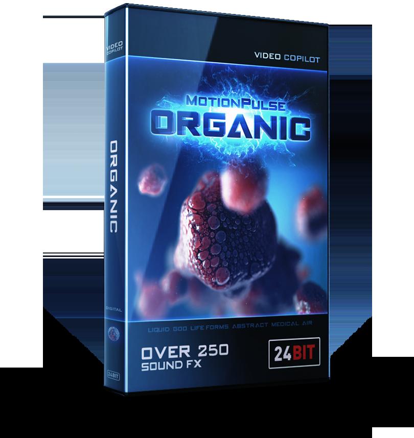 Video Copilot MotionPulse Audio Pack - Organic