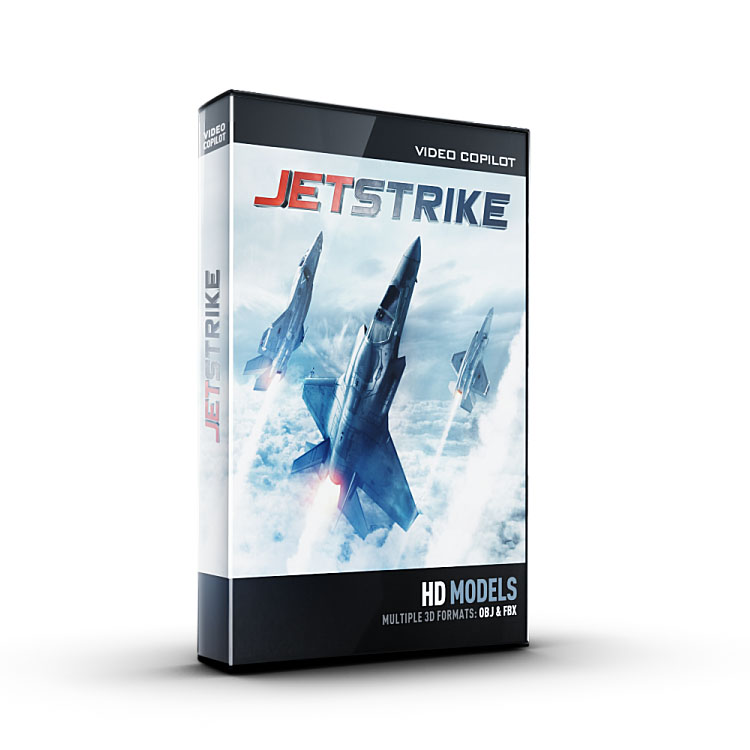 Video Copilot 3D Model Pack - JetStrike