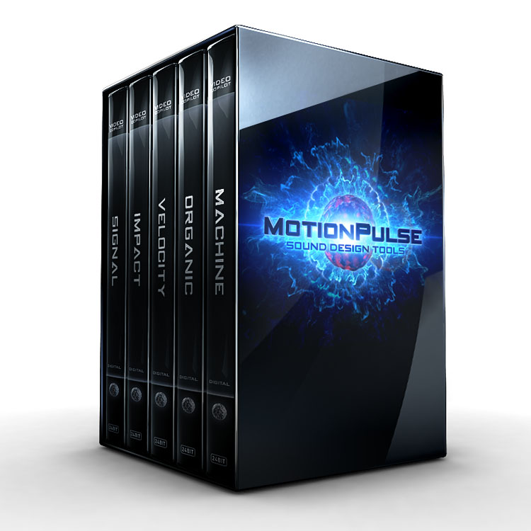 Video Copilot MotionPulse Audio SFX - BlackBox Bundle