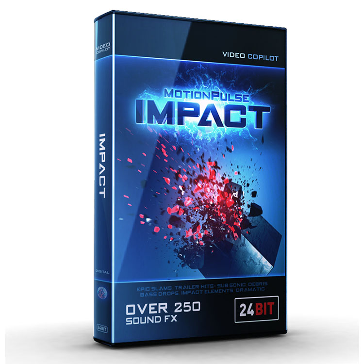 Video Copilot MotionPulse Audio Pack - Impact