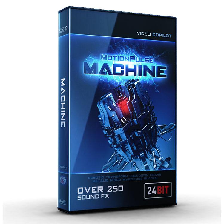 Video Copilot MotionPulse Audio Pack - Machine
