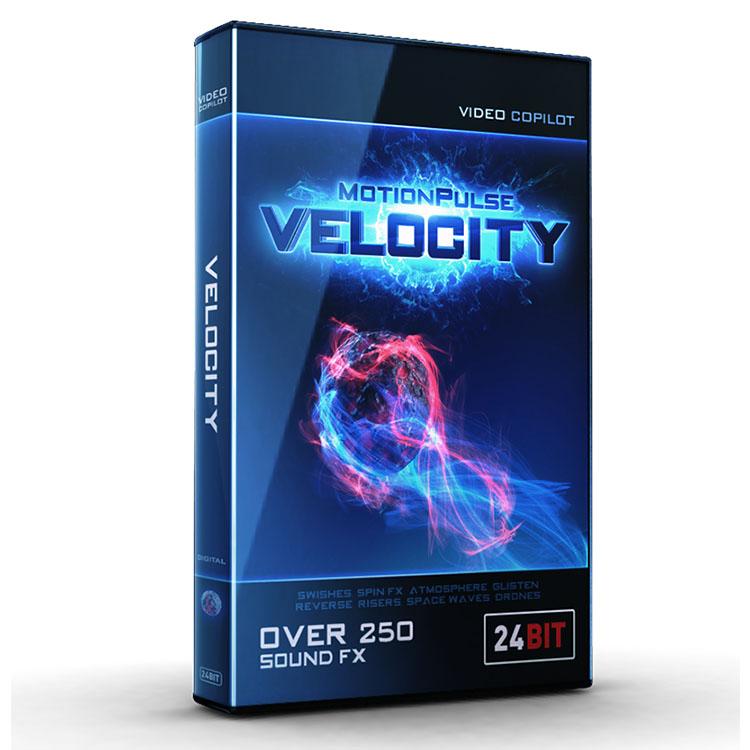Video Copilot MotionPulse Audio Pack - Velocity