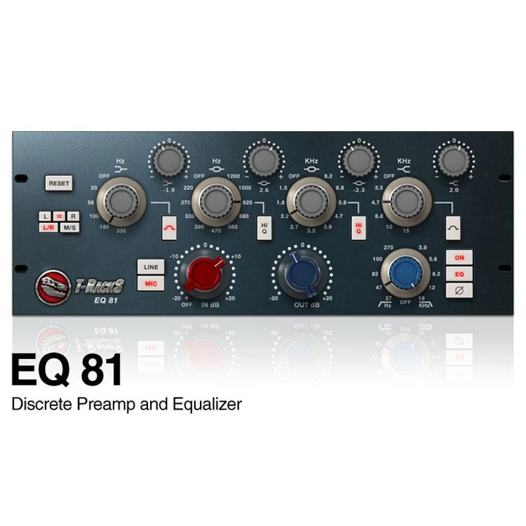 IK Multimedia EQ 81