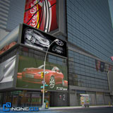 NoneCG NYC Times Square 3D Model