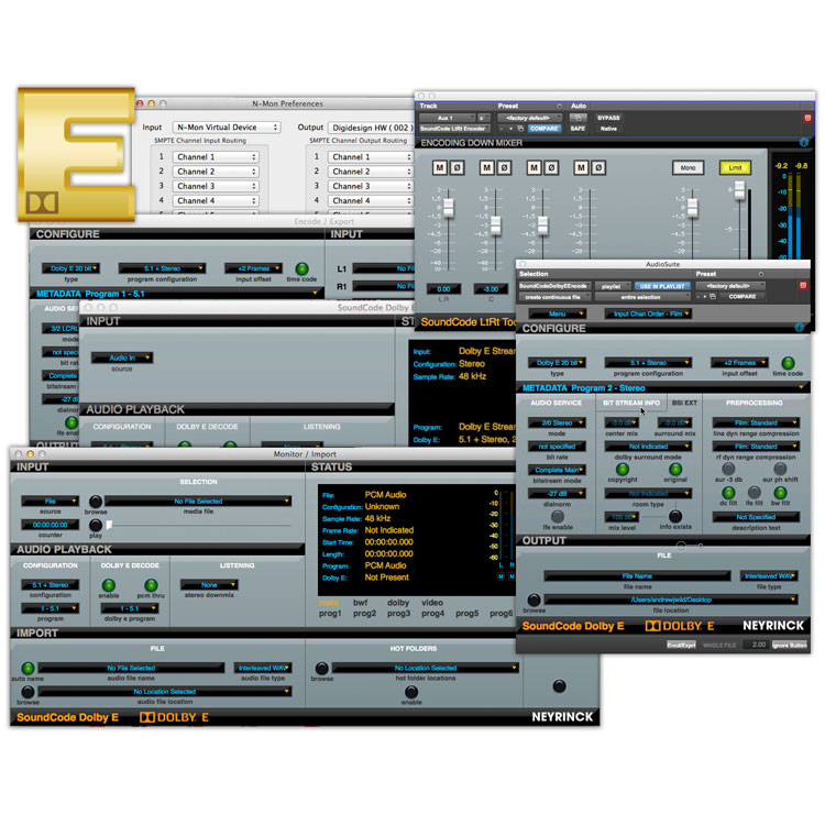 Neyrinck Soundcode for Dolby E Bundle
