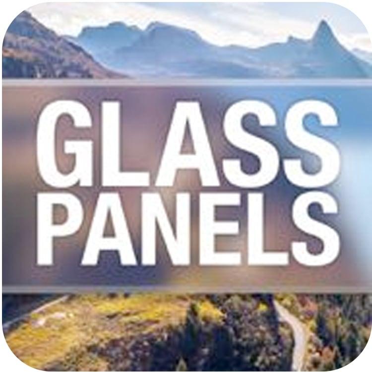 idustrial revolution glass panels