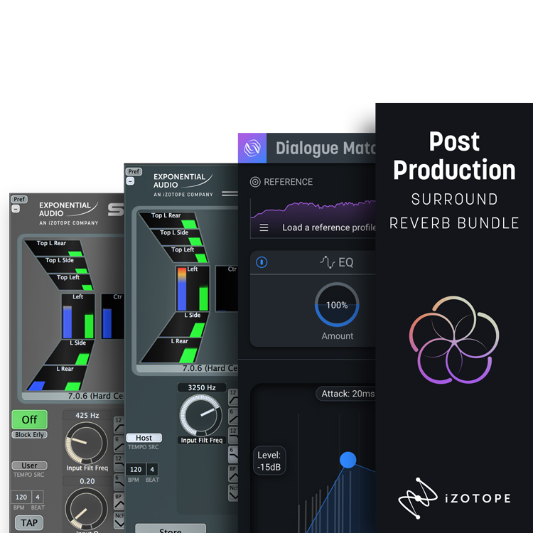 iZotope Post Production Surround Reverb Bundle