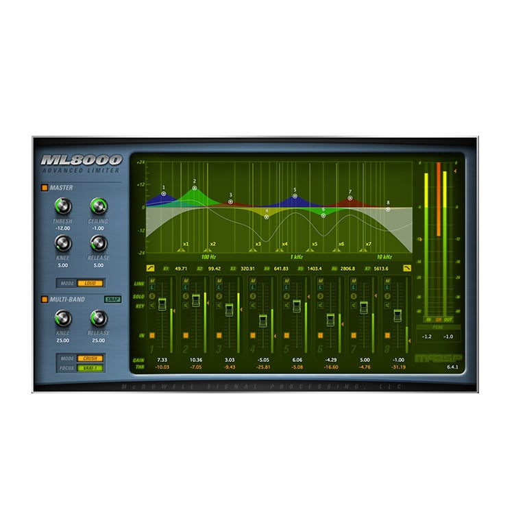 McDSP ML8000 Advanced Limiter