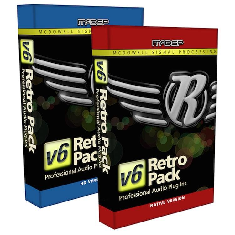 McDSP Retro Pack