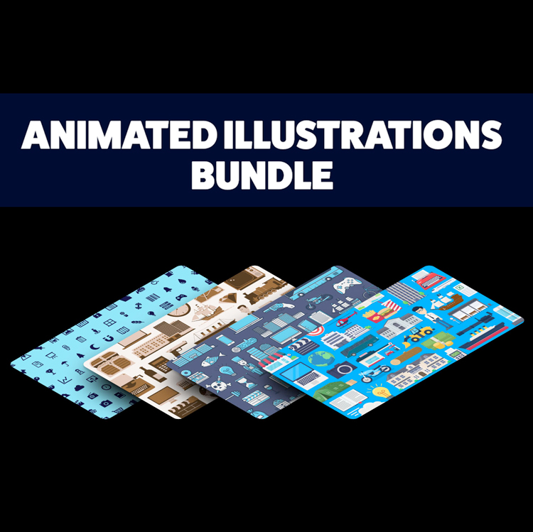 Mister Horse Animated Illustrations bundle for Animation Composer