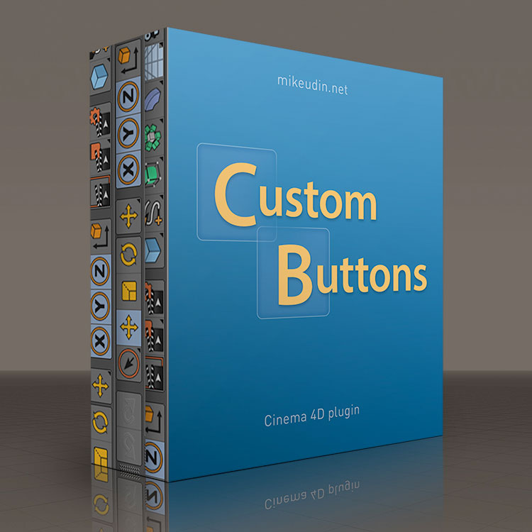 Mike Udin Custom Buttons