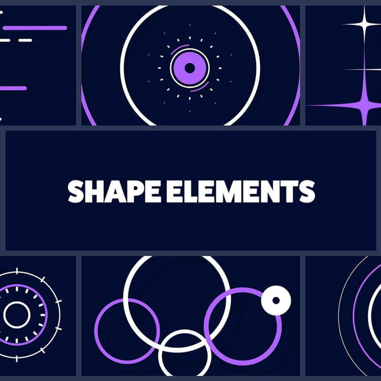 Mister Horse  Shape Elements Pack for Animation Composer