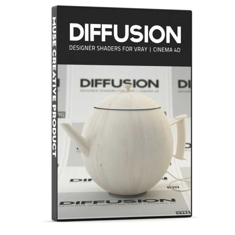 Muse Creative Diffusion - Designer Shaders for Vray4C4D