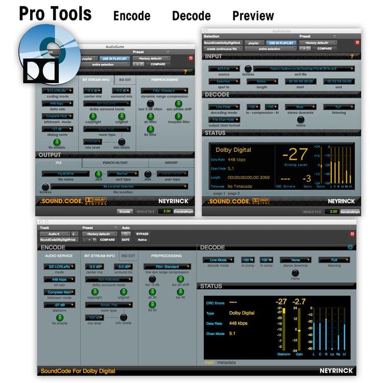 Neyrinck Soundcode for Dolby Digital 2