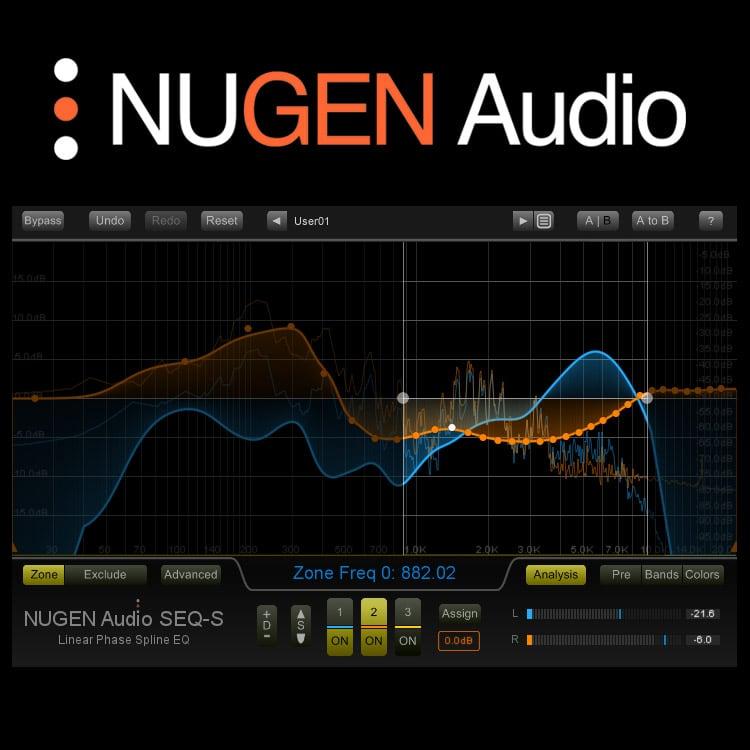 NUGEN Audio SEQ-S / SEQ-ST