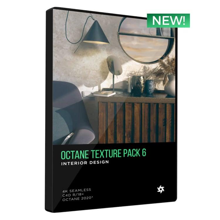 Pixel Lab Octane Texture Pack 6: Interior Design