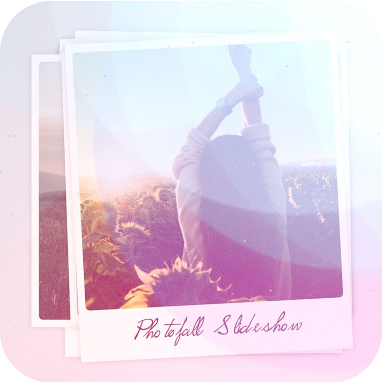 omotion Photofall Slideshow