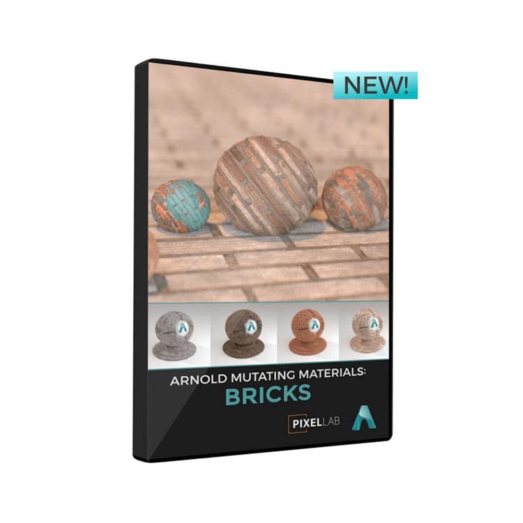 Pixel Lab Arnold Mutating Materials: Bricks