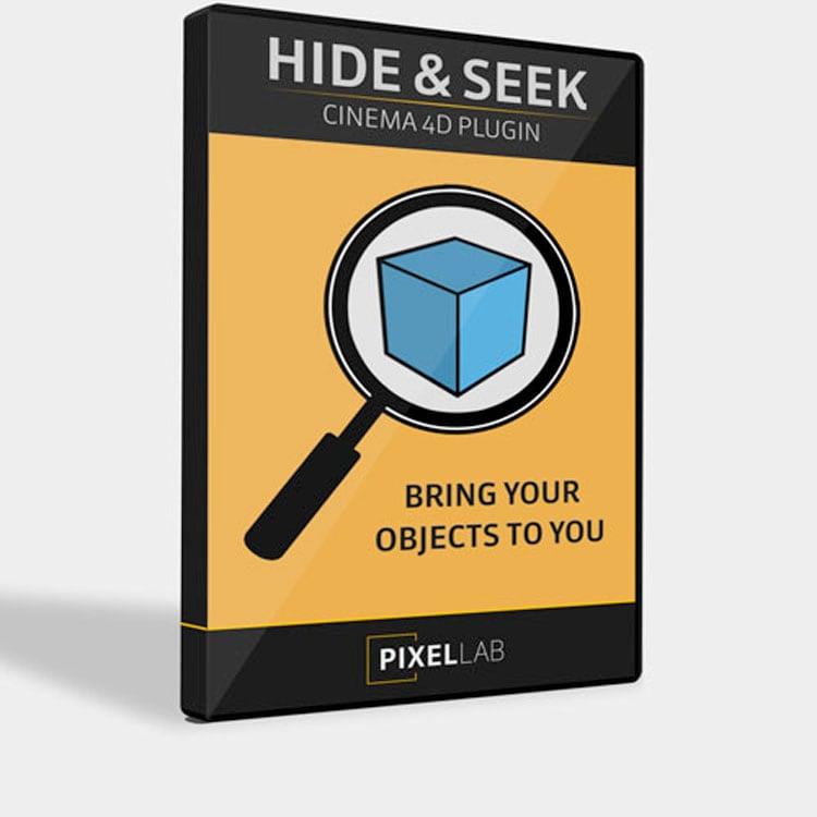Pixel Lab Hide and Seek for Cinema 4D