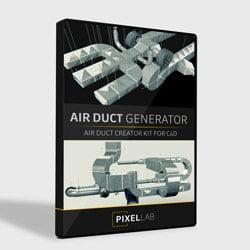 Pixel Lab Air Duct Generator
