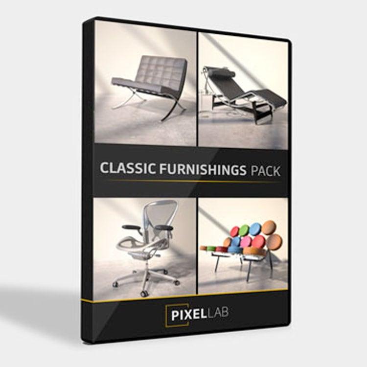 Pixel Lab Classic Furnishings Pack