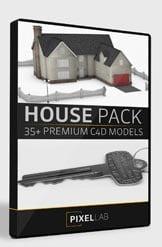 Pixel Lab 3D House Pack