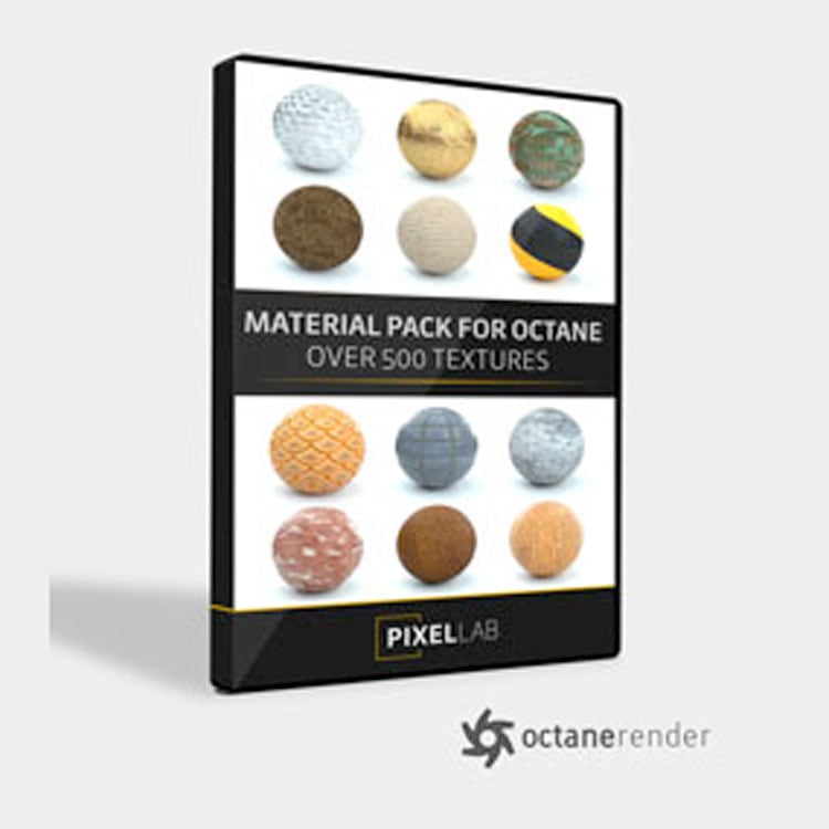 Pixel Lab Material Pack for Octane