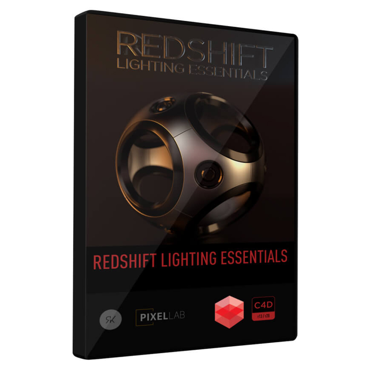 Pixel Lab Redshift Lighting Essentials for C4D