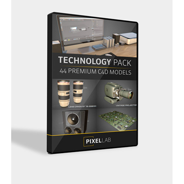 Pixel Lab Technology Pack for Cinema 4D
