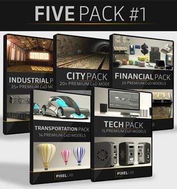 Pixel Lab 5 Pack #1