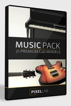 Pixel Lab 3D Music Pack