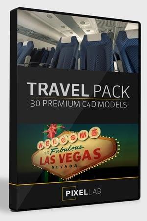 Pixel Lab 3D Travel Pack