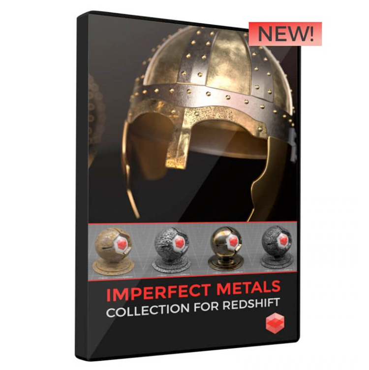 Pixel Lab Imperfect Metals Collection for Redshift