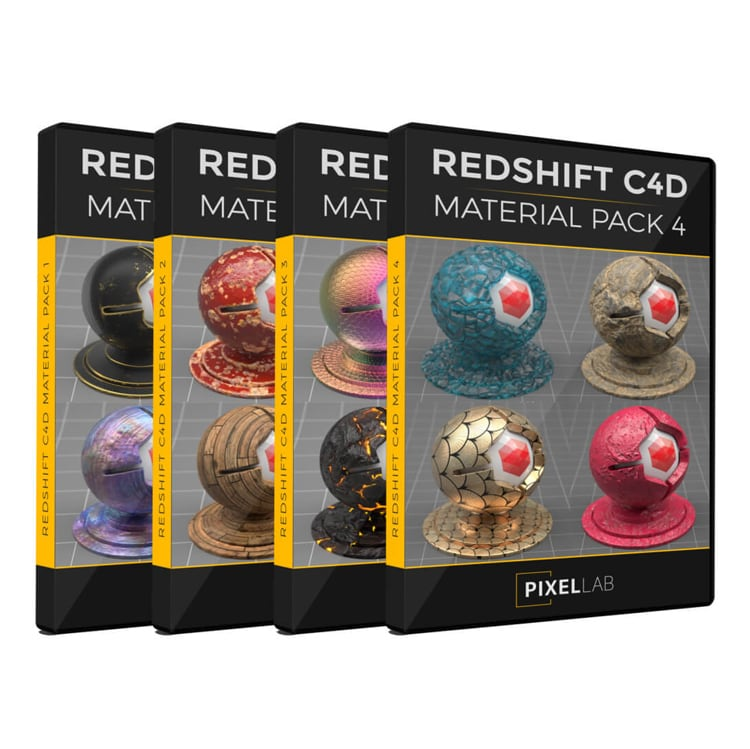 redshift material bundle