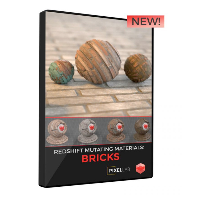 Pixel Lab Redshift Mutating Materials: Bricks