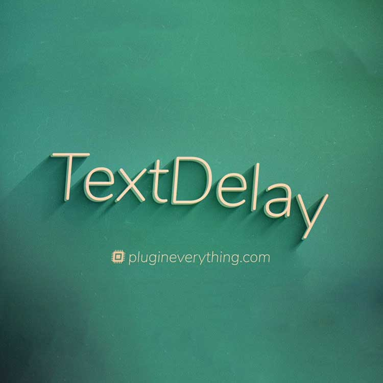 Plugin Everything TextDelay