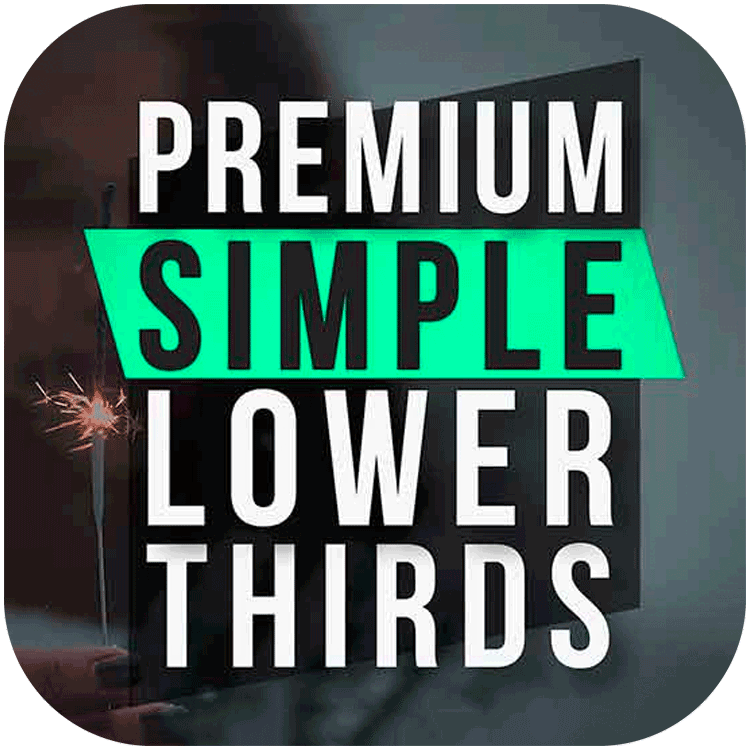 PremiumVFX Simple Lower Thirds for FCPX