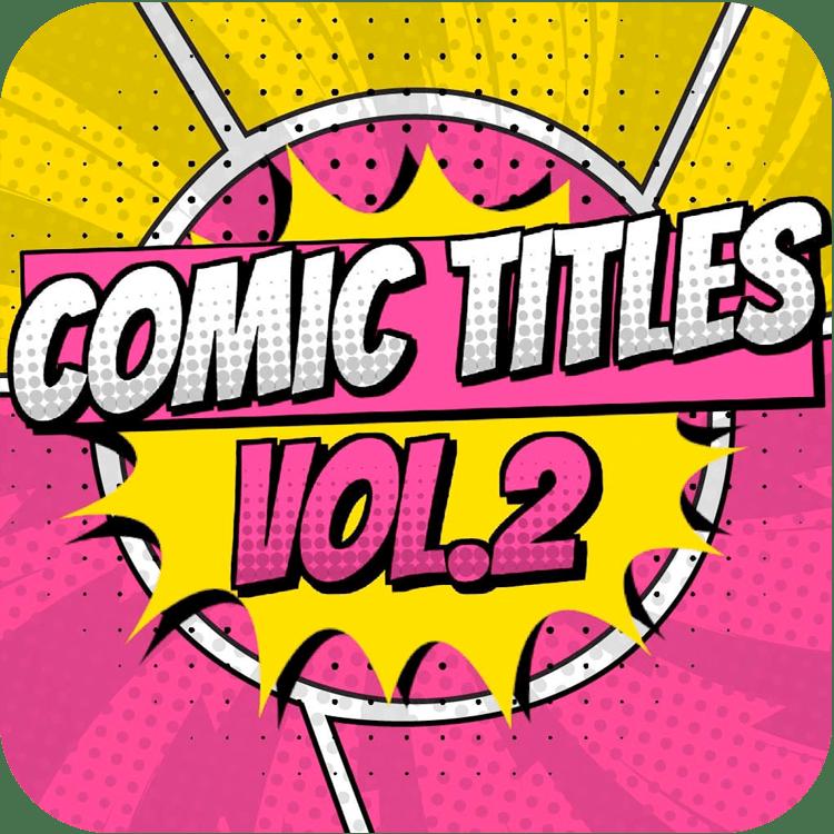 PremiumVFX Comic Titles Volume 2