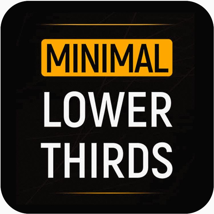 PremiumVFX Minimal Lower Thirds for FCPX