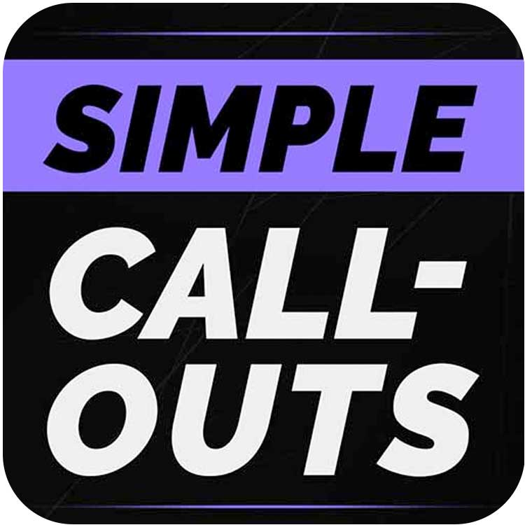 PremiumVFX Simple Callouts for FCPX