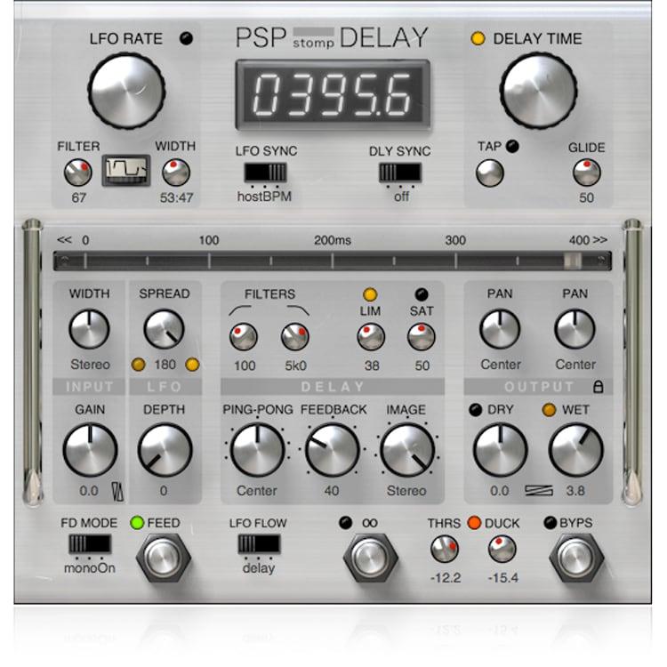 PSPaudioware PSP stompDelay