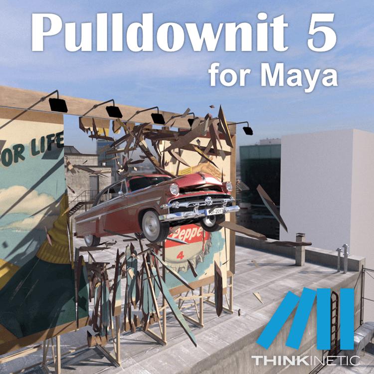 Pulldownit for Maya