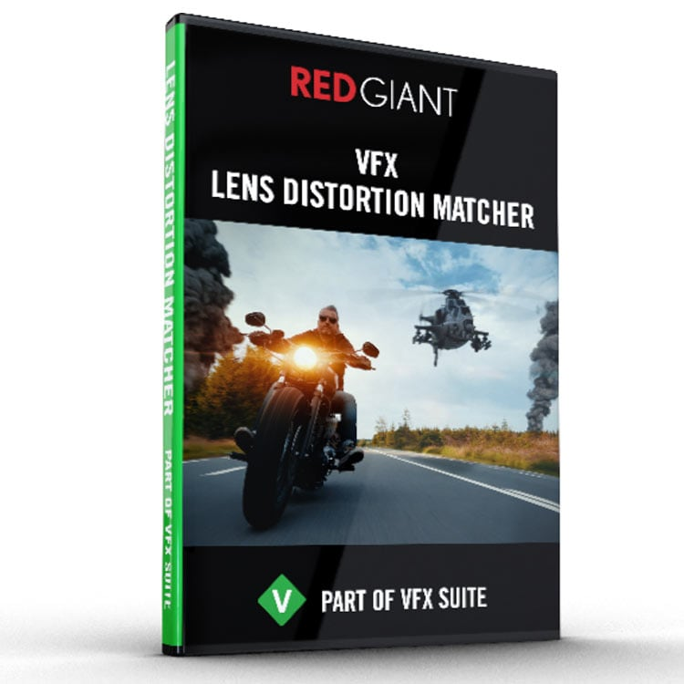 Red Giant VFX Lens Distortion Matcher