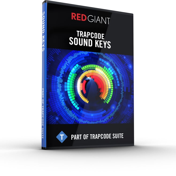 Red Giant Trapcode Sound Keys