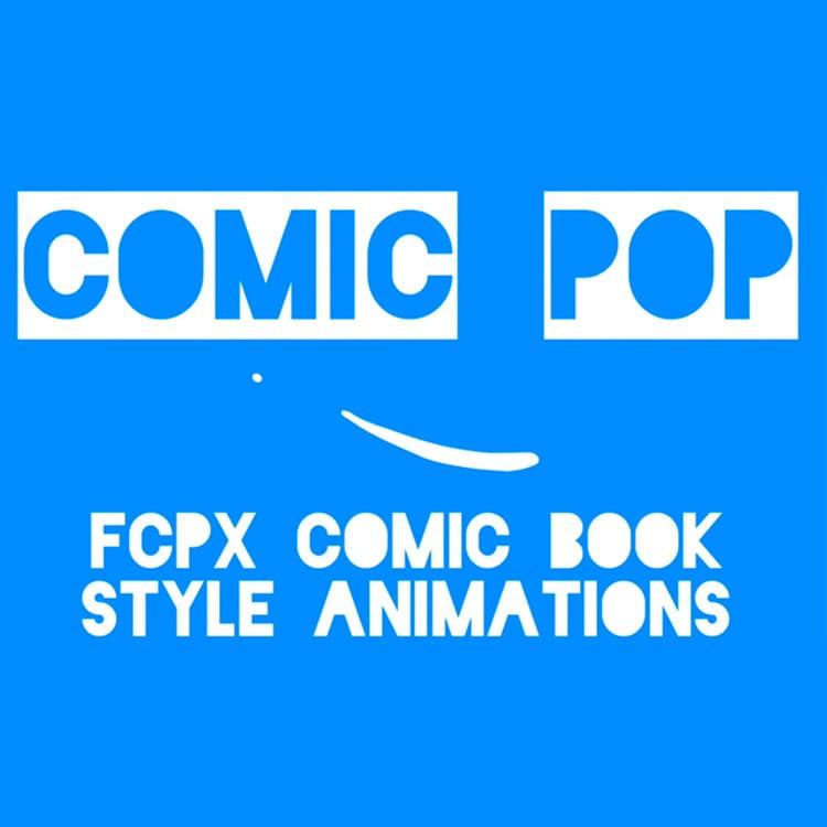 Stupid Raisins Comic Pop for FCPX