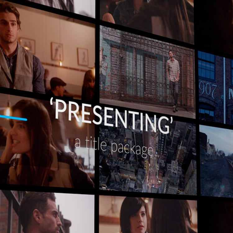 SwiftStock After Effects Template: 'Presenting'