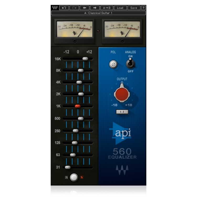 Waves API 560 10-Band Graphic Equalizer