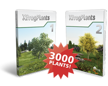 Xfrog Plants Volume 1 & 2 Bundle