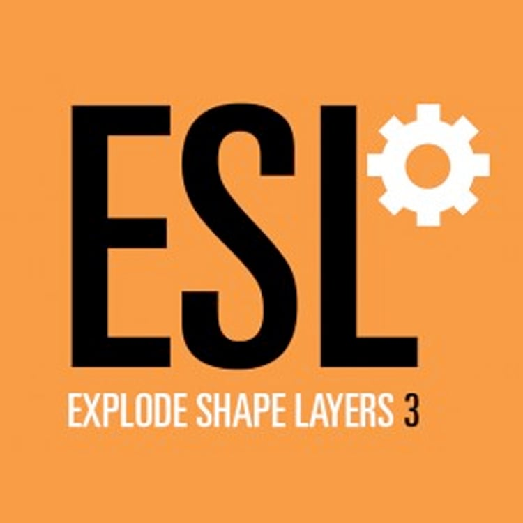 Explode Shape Layers 3 for After Effects