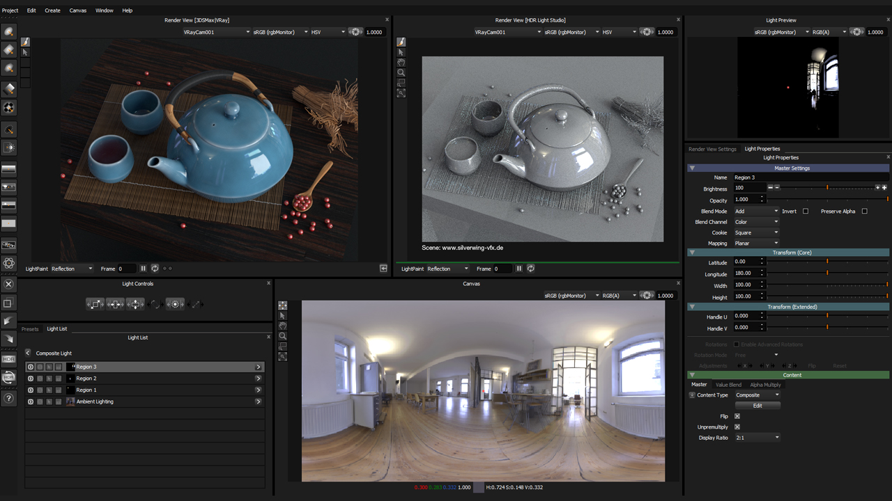 Lightmap HDR Light Studio Indie